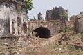 Ruins of buildings, Murud-Janjira Fort.JPG