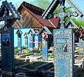 Rumunia, Sapanta, Wesoły Cmentarz(Aw58)6.JPG