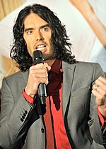 Russell Brand Arthur Premier mike