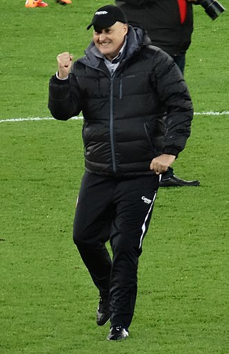 Russell Slade - Slade as manager of Cardiff City in 2014