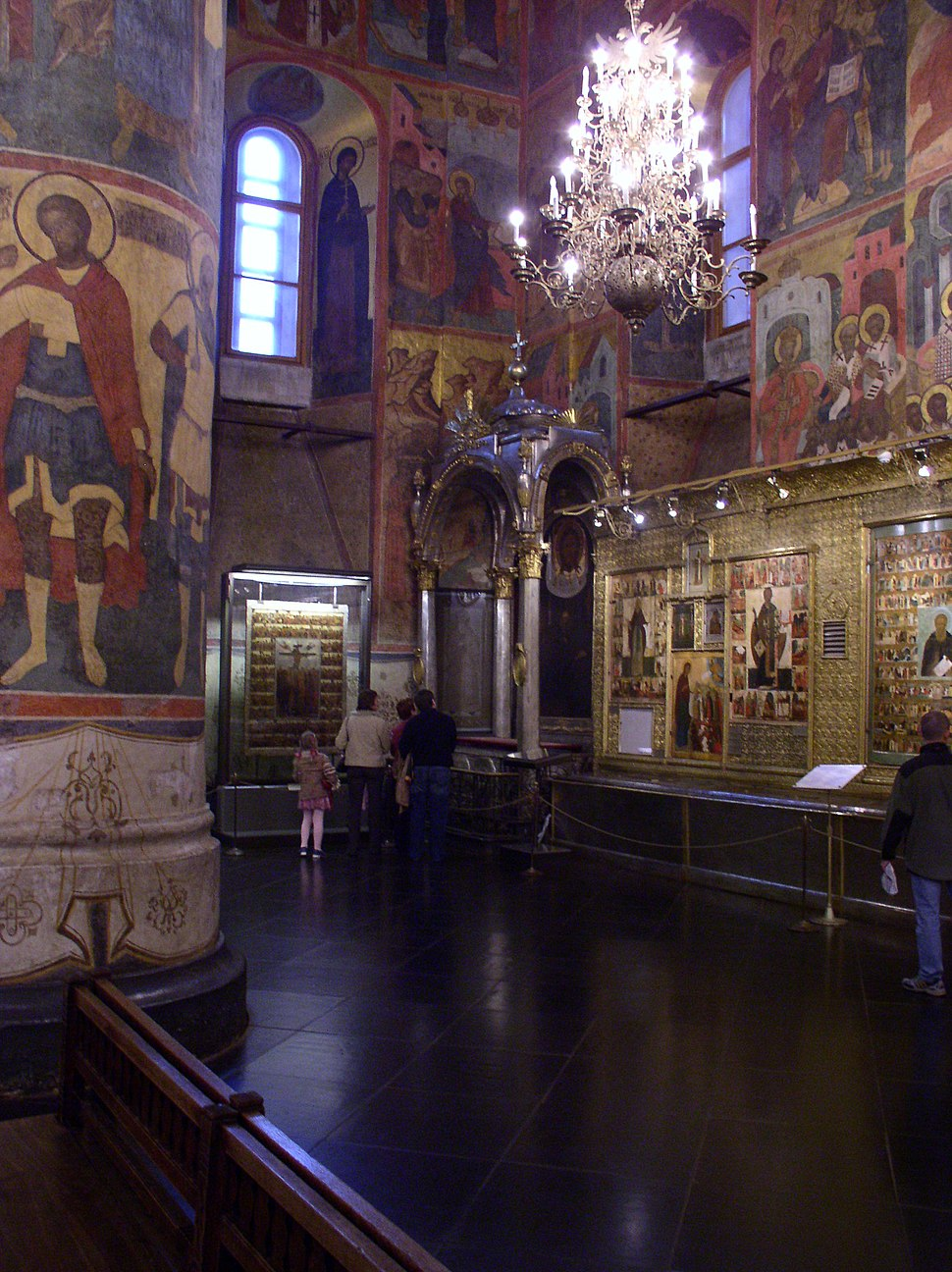 Russia-Moscow-Kremlin Museums Exhibitions-12