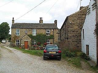 Ryecroft, West Yorkshire Hamlet in West Yorkshire, England
