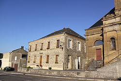 Sécheval (08 Ardennes) - la Mairie - Photo Francis Neuvens lesardennesvuesdusol.fotoloft.fr.JPG