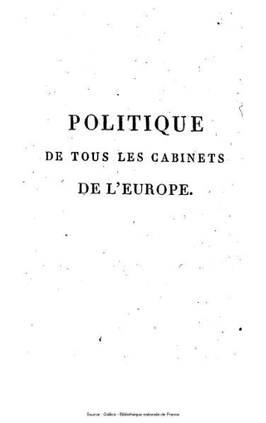 File:Ségur - Politique de tous les cabinets de l'Europe pendant les règnes de Louis XV et de Louis XVI, tome 2.djvu