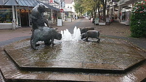 Bad Oeynhausen - The Sültemeyer-Fountain