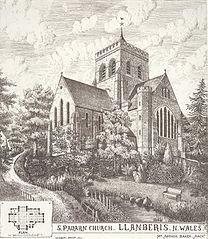 S. Padarn Church. Llanberis. n. Wales