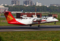 S2-AHB Bombardier Dash 8-Q311 Regent Airways Landing (8305304341).jpg