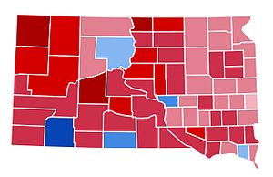 United States presidential election in South Dakota, 2000