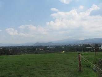 Valley of Mexico - Modern-day Cuicuilco