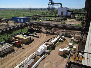 United Chemical Company - Reconstruction of the sulfuric acid plant in Stepnogorsk