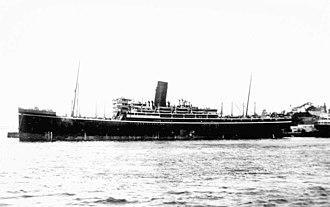 SS Mongolia (1922) - SS Mongolia
