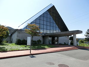 SUWA Glass-no-Sato Museum.JPG
