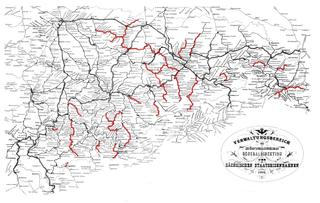 Narrow-gauge railways in Saxony Railway network in Saxony