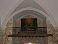 Saint-Amand-de-Vergt église tribune.JPG
