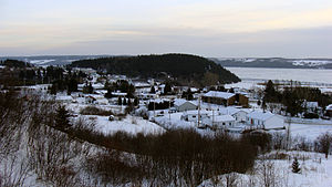 Saint-Fulgence, Quebec - Image: Saint Fulgence 20090102