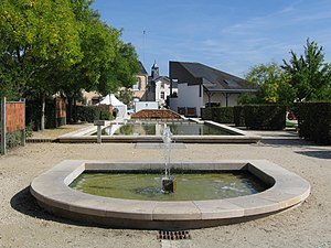 Saint-Jean-de-Braye - Town hall gardens
