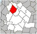 Saint-Jude Quebec location diagram.PNG