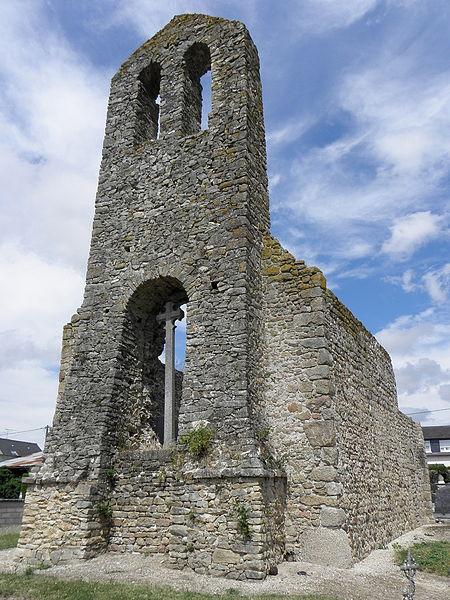 Ancienne église Saint-Ouen de Saint-Ouen-des-Vallons (53).