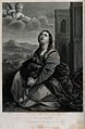 Saint Catherine. Line engraving by J.M. St Eve after Guido R Wellcome V0031810.jpg