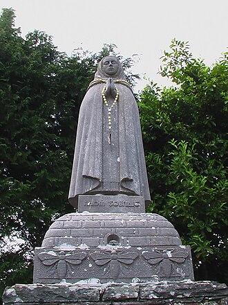 Ballyvourney - Statue of Saint Gobnait