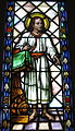Saint Peter Catholic Church (Millersburg, Ohio) - stained glass, Christ Child.jpg