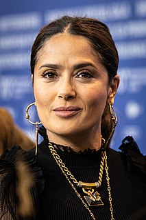 Salma Hayek Mexican and American actress and producer