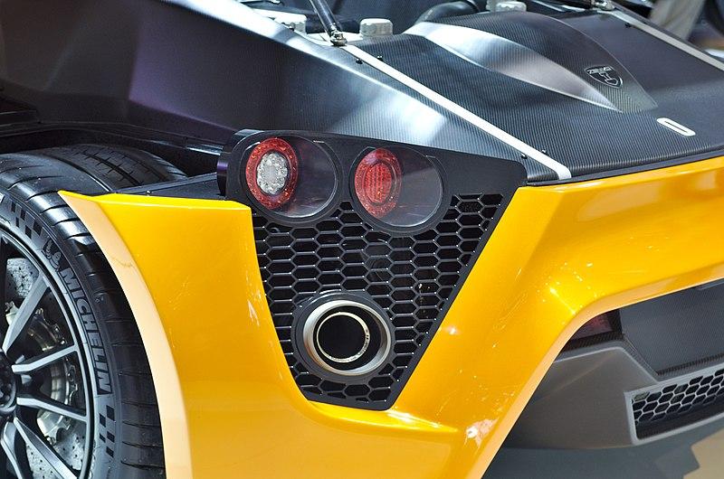 File salon de l 39 auto de gen ve 2014 20140305 zenvo st1 wikimedia commons - Salon de l automobile 2014 ...