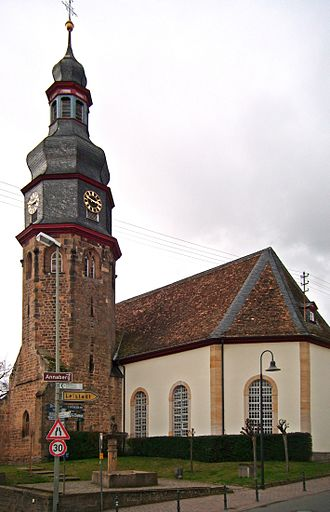 Kallstadt - The Salvatorkirche (Saviour's church) in Kallstadt
