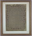 Sampler, An Encomium of that Ever Blessed Martyr King Charles the First, 1747 (CH 18697371).jpg