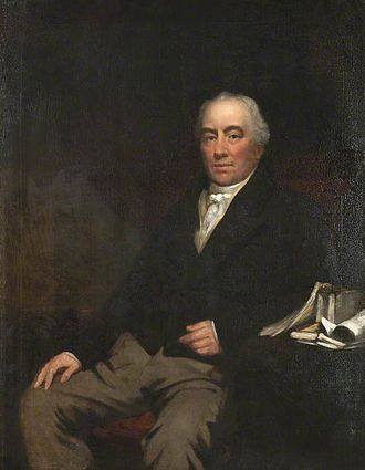 Samuel Hunter (editor) - Portrait by Daniel Macnee