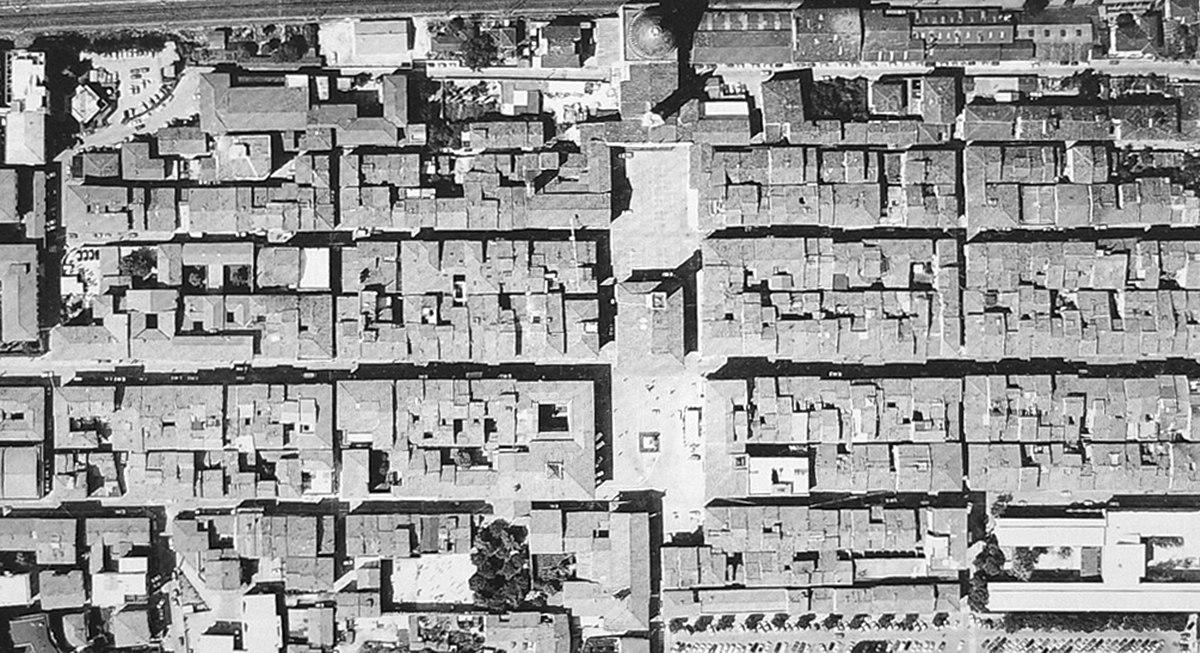 Storia dell 39 urbanistica wikipedia for Planimetrie della casa quadrata