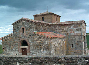 Visigothic art and architecture - Church of San Pedro de la Nave in San Pedro de la Nave-Almendra (province of Zamora)