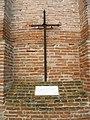 San Giorgio, facciata, croce (Gambulaga, Portomaggiore).JPG