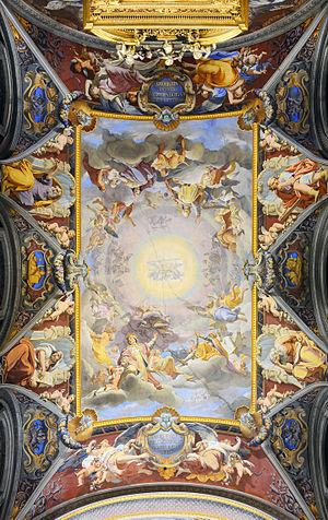 San Girolamo dei Croati (Roma) - Ceiling