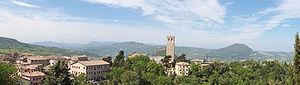 San Leo - Image: San Leo Panorama I