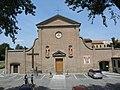 San Lorenzo da Brindisi Superiore facade (Rovigo).jpg