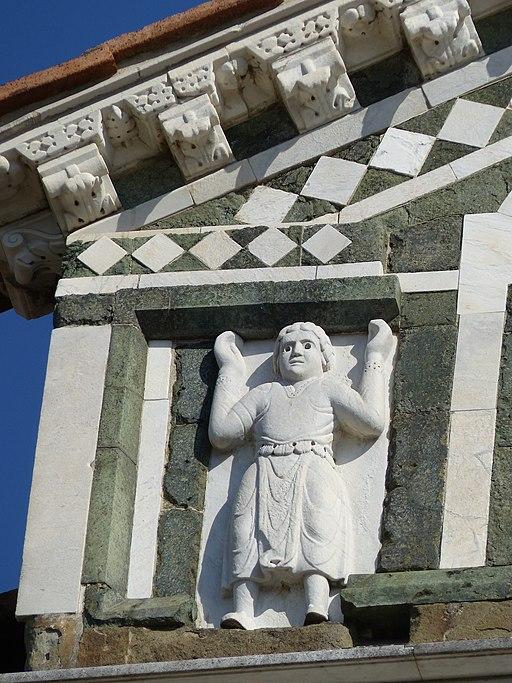 San Miniato al Monte, facciatae