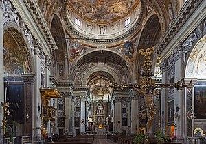 Tolentini, Venice - Image: San Nicola da Tolentino (Venice) Interno