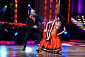 Sanath Jayasuriya, Suchitra on the sets of 'Jhalak Dikhhlaa Jaa 5'(9).jpg
