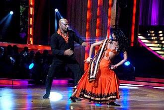Sanath Jayasuriya - Sanath Jayasuriya and Suchitra on the sets of 'Jhalak Dikhhlaa Jaa 5'