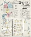 Sanborn Fire Insurance Map from Muncie, Delaware County, Indiana. LOC sanborn02433 002-1.jpg