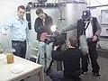 "Saniresch shooting for children's television programme ""pur+"" (5534672117).jpg"