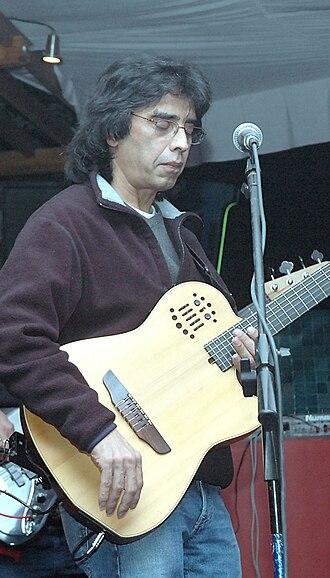 Sanjay Mishra (musician) - Image: Sanjay Mishra at saffireclub