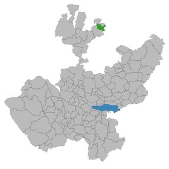 Santa María de los Ángeles - Image: Santa María de los Ángeles (municipio de Jalisco)