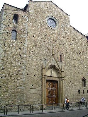 Santa Maria Maggiore, Florence - Facade of Santa Maria Maggiore di Firenze