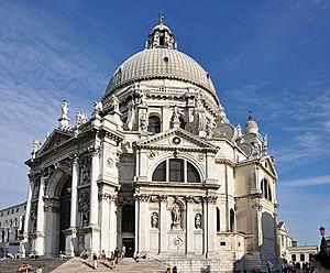 Santa Maria della Salute - Image: Santa Maria della Salute in Venice 001