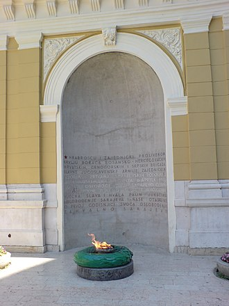 Eternal flame - Eternal Flame in Sarajevo