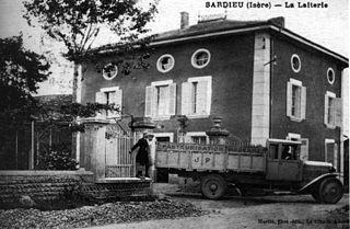 Sardieu Commune in Auvergne-Rhône-Alpes, France