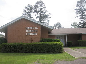 Sarepta, Louisiana - Sarepta Branch Library off Highway 371