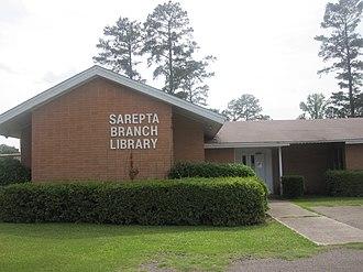 Sarepta, Louisiana - Sarepta Branch Library off Highway 371